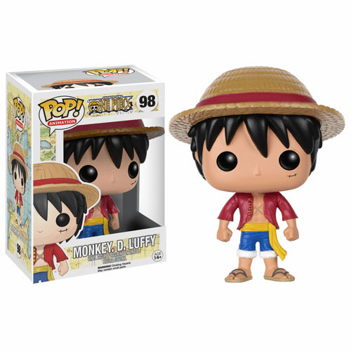 Funko Pop Animation Vinyl One Piece Monkey D. Luffy Figure