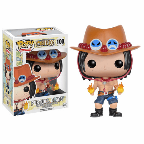 Funko Pop Animation Vinyl One Piece Portgas D. Ace Figure