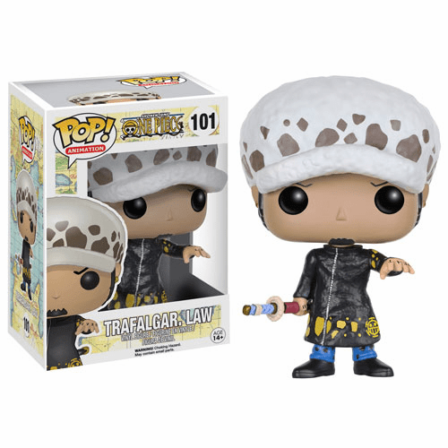Funko Pop Animation Vinyl One Piece Trafalgar Law Figure