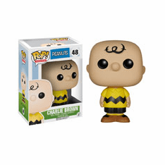 Funko Pop Animation Vinyl Peanuts Charlie Brown Figure