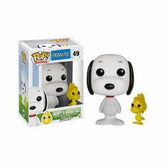 Funko Pop Animation Vinyl Peanuts Snoopy & Woodstock Figure