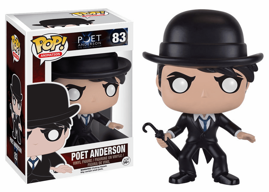 Funko Pop Animation Vinyl Poet Anderson Figure