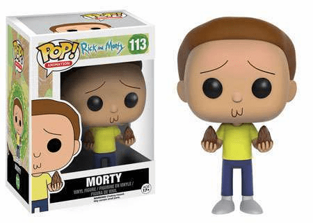 Funko Pop Animation Vinyl Rick & Morty 113 Morty Figure