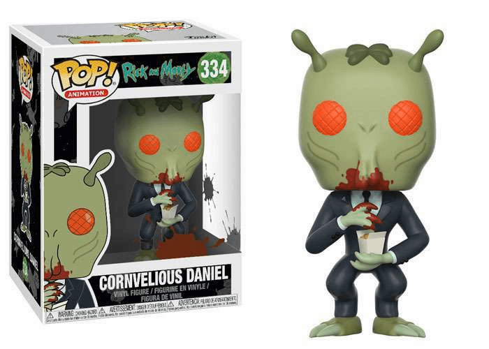 Funko Pop Animation Vinyl Rick & Morty Cornvelious Daniel Figure