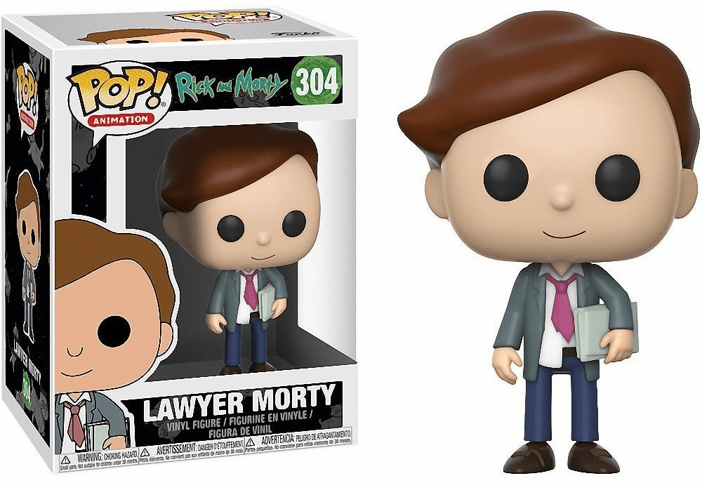 Funko Pop Animation Vinyl Rick & Morty Lawyer Morty Figure
