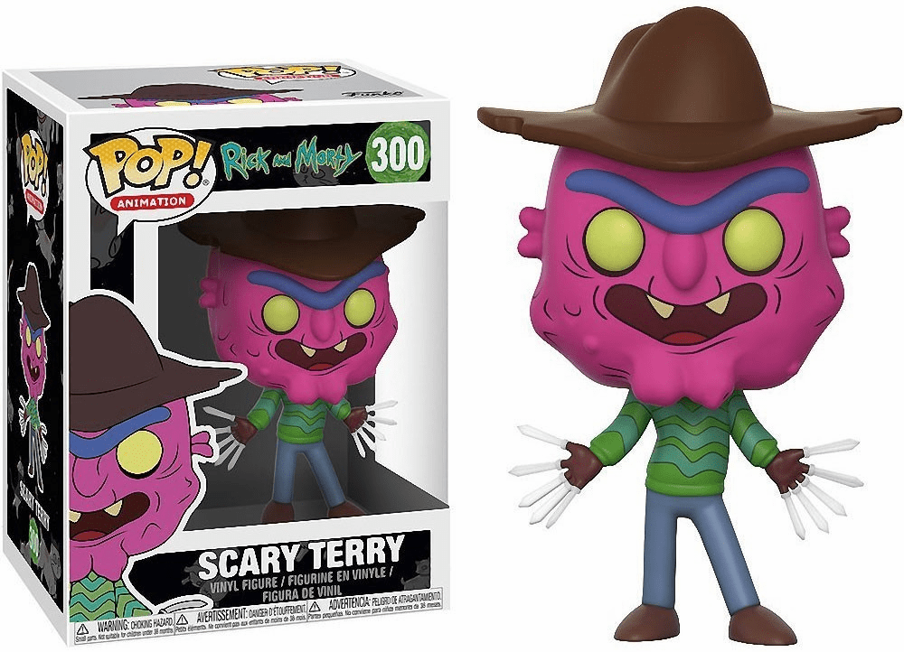 Funko Pop Animation Vinyl Rick & Morty Scary Terry Figure