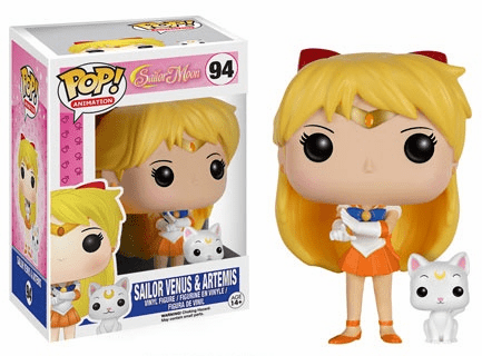 Funko Pop Animation Vinyl Sailor Venus & Artemis Figure