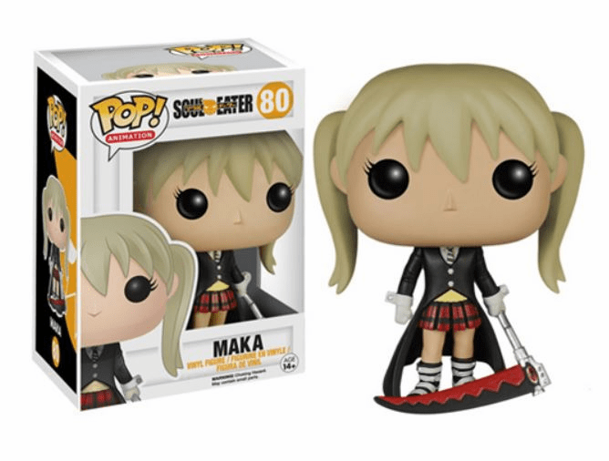 Funko Pop Animation Vinyl Soul Eater Maka Figure