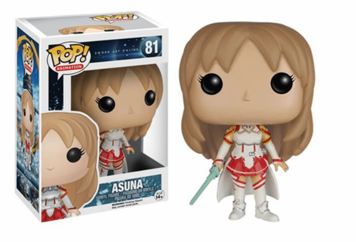 Funko Pop Animation Vinyl Sword Art Online Asuna Figure