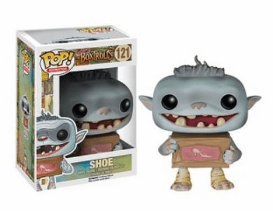 Funko Pop Animation Vinyl The Boxtrolls Shoe Figure