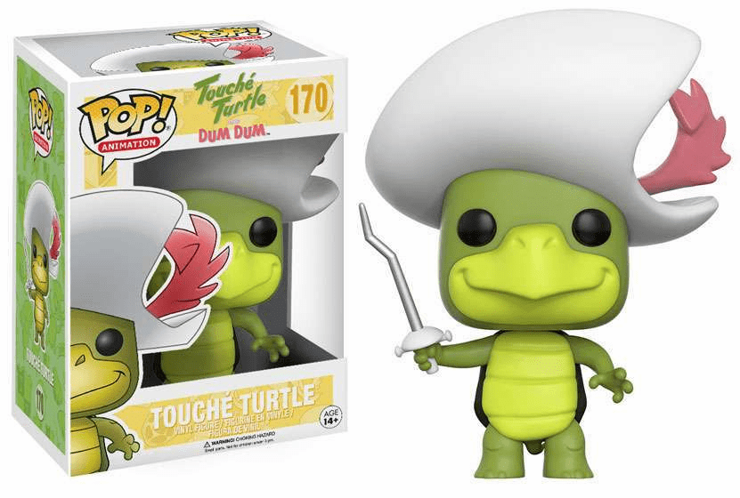 Funko Pop Animation Vinyl Touche Turtle Figure