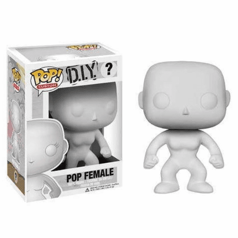 Funko Pop D.I.Y. Pop Female Figure
