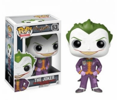 Funko Pop Heroes Arkham Asylum The Joker Figure