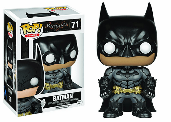 Funko Pop Heroes Arkham Knight #71 Batman Figure