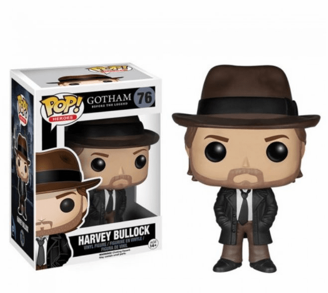 Funko Pop Heroes Gotham Harvey Bullock Figure