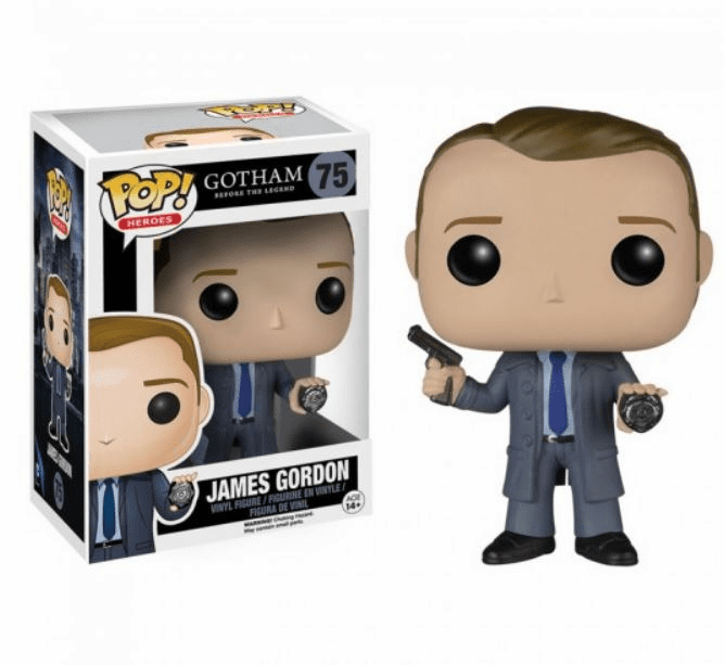 Funko Pop Heroes Gotham James Gordon Figure