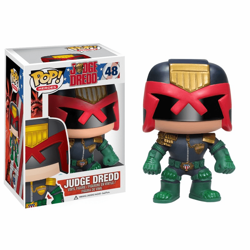 Funko Pop Heroes Judge Dredd Figure