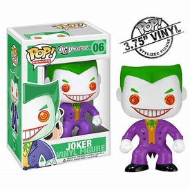 Funko Pop Heroes Vinyl 06 Joker Figure