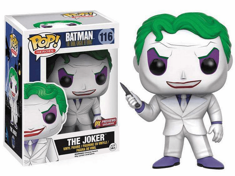 Funko Pop Heroes Vinyl 116 Batman Dark Knight Returns Joker Figure