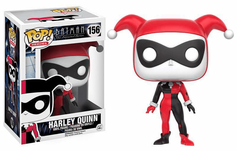 Funko Pop Heroes Vinyl 156 Batman Animated Series Harley Quinn Figure