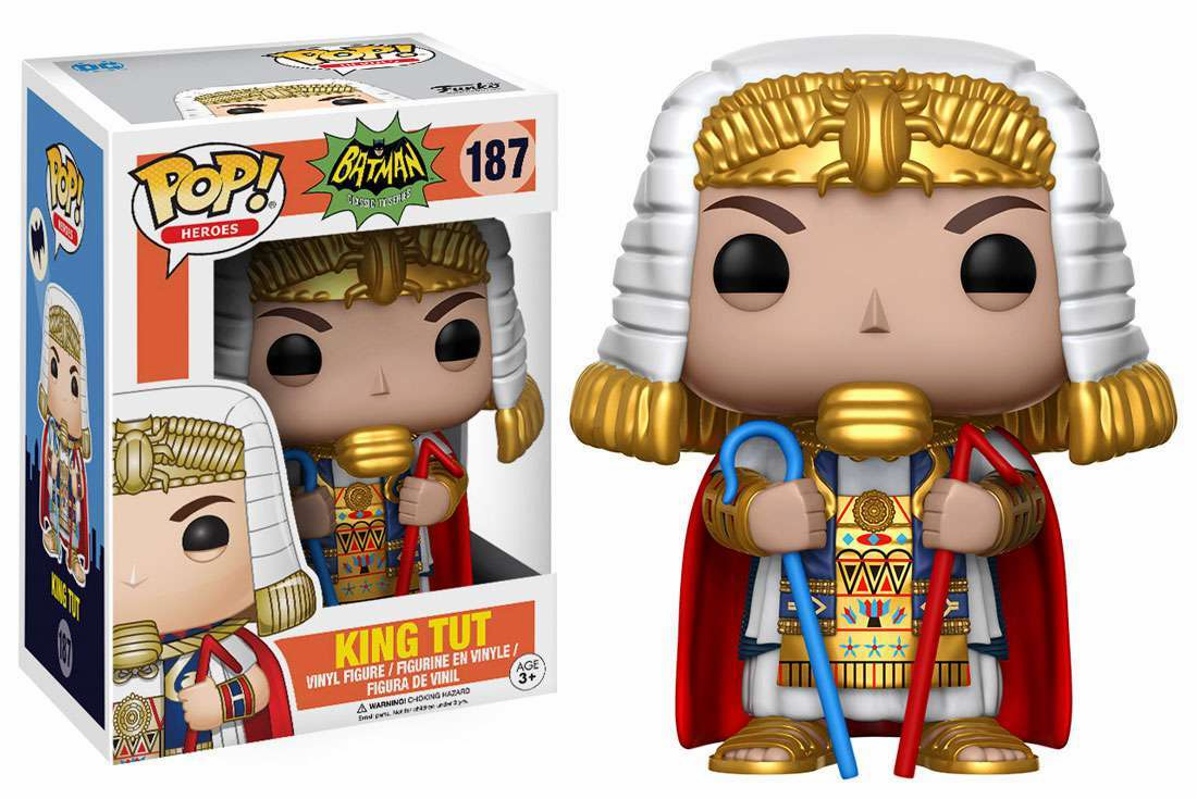 Funko Pop Heroes Vinyl 187 1966 Batman King Tut Figure