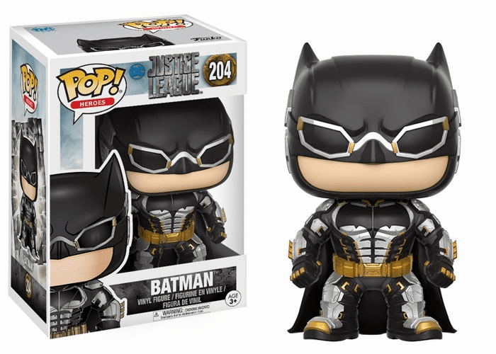 Funko Pop Heroes Vinyl 204 Justice League Batman Figure