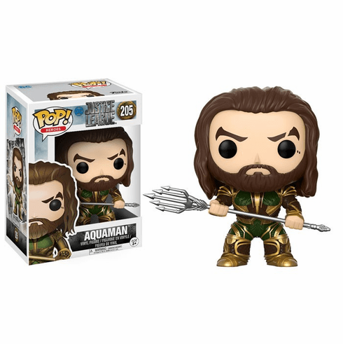 Funko Pop Heroes Vinyl 205 Justice League Aquaman Figure