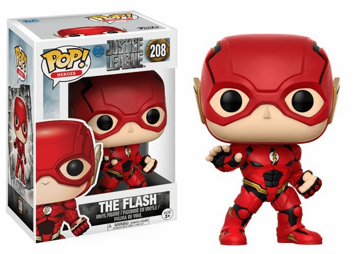 Funko Pop Heroes Vinyl 208 Justice League The Flash Figure