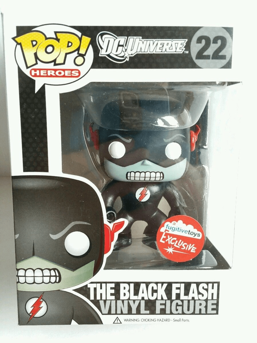 Funko Pop Heroes Vinyl 22 The Black Flash Figure