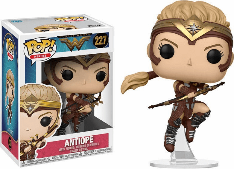 Funko Pop Heroes Vinyl 227 Wonder Woman Movie Antiope Figure