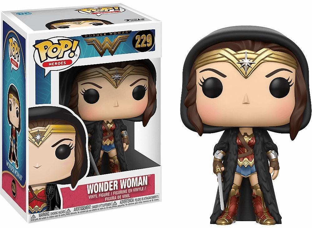 Funko Pop Heroes Vinyl 229 Wonder Woman Movie Wonder Woman Figure