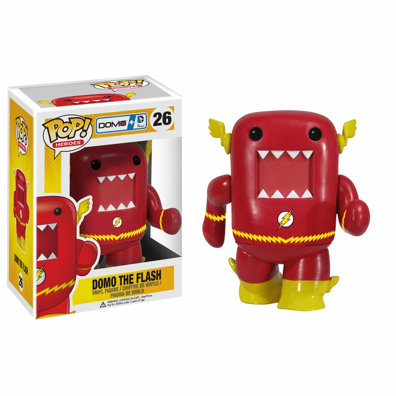 Funko Pop Heroes Vinyl 26 Domo The Flash Figure