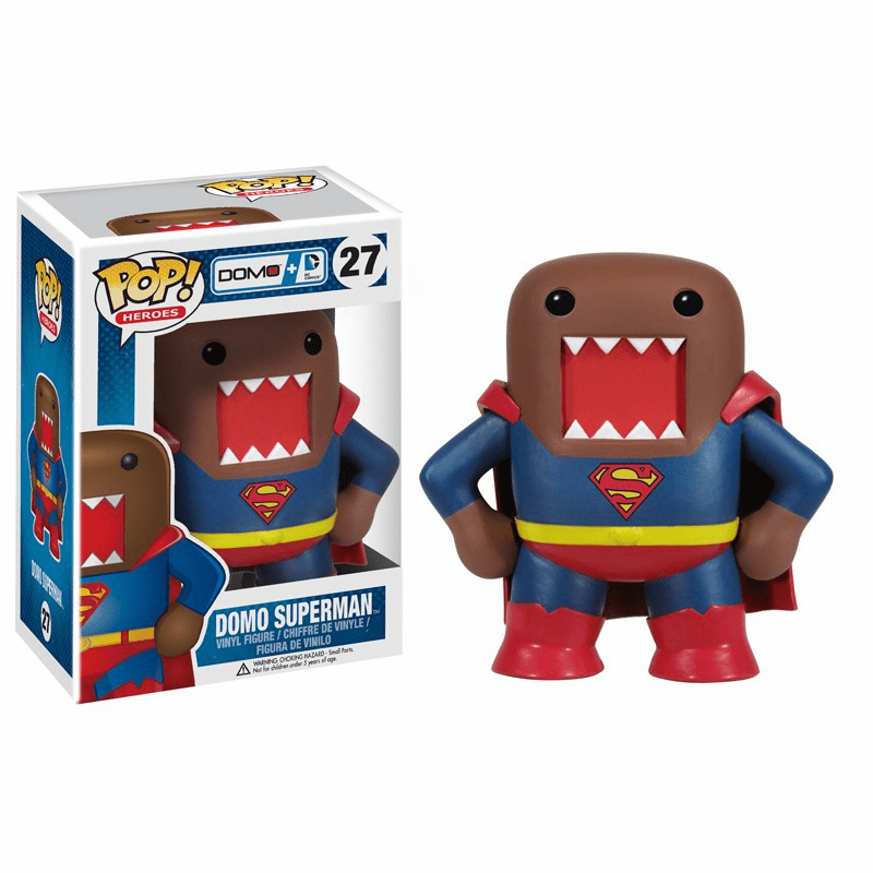 Funko Pop Heroes Vinyl 27 Domo Superman Figure