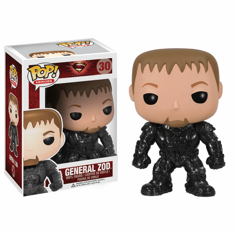 Funko Pop Heroes Vinyl 30 Man of Steel General Zod Figure