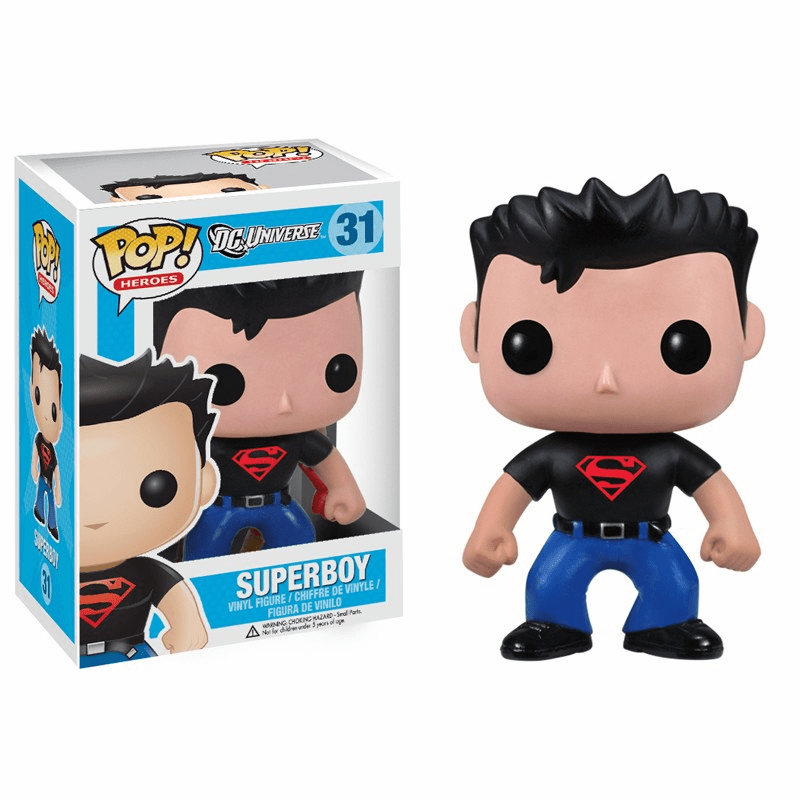Funko Pop Heroes Vinyl 31 Superboy Figure