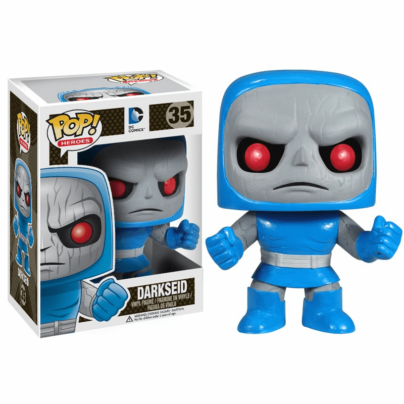 Funko Pop Heroes Vinyl 35 Darkseid Figure