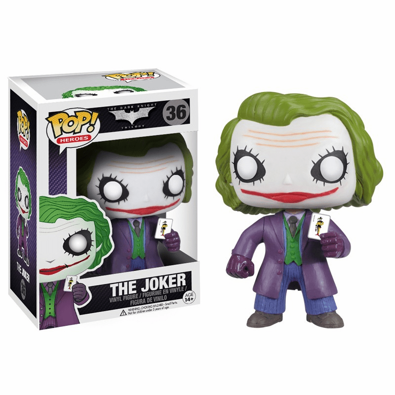 Funko Pop Heroes Vinyl 36 Dark Knight The Joker Figure