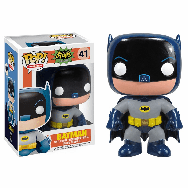 Funko Pop Heroes Vinyl 41 1966 Batman Figure