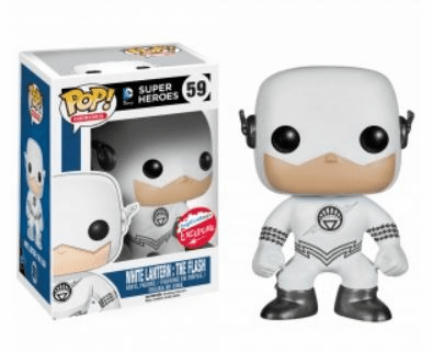 Funko Pop Heroes Vinyl 59 White Lantern The Flash Figure