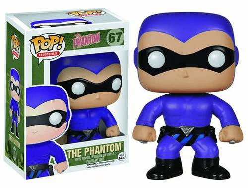 Funko Pop Heroes Vinyl 67 The Phantom Figure