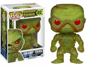 Funko Pop Heroes Vinyl 82 Swamp Thing Figure