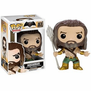 Funko Pop Heroes Vinyl 87 Batman v. Superman Aquaman Figure