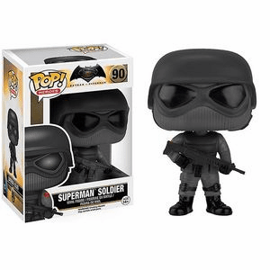 Funko Pop Heroes Vinyl 90 Batman v. Superman Superman Soldier Figure