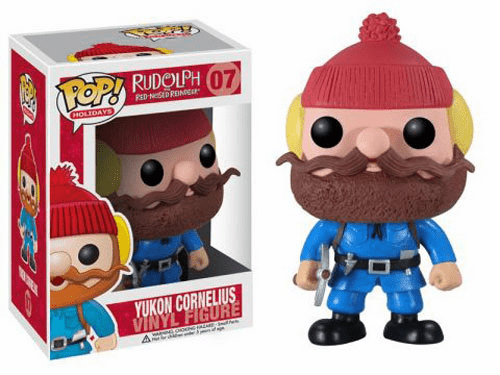 Funko Pop Holiday 07 Rudolph Yukon Cornelius Figure