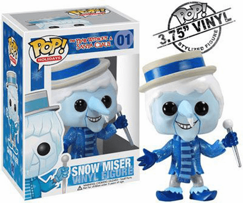Funko Pop Holiday Vinyl 01 Year Without Santa Claus Snow Miser Figure