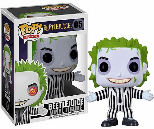 Funko Pop Movies Vinyl 05 Beetlejuice Figure