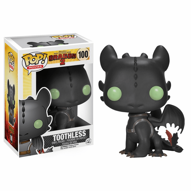 Funko Pop Movies Vinyl 100 How to Train Your Dragon 2 Toothless Figure