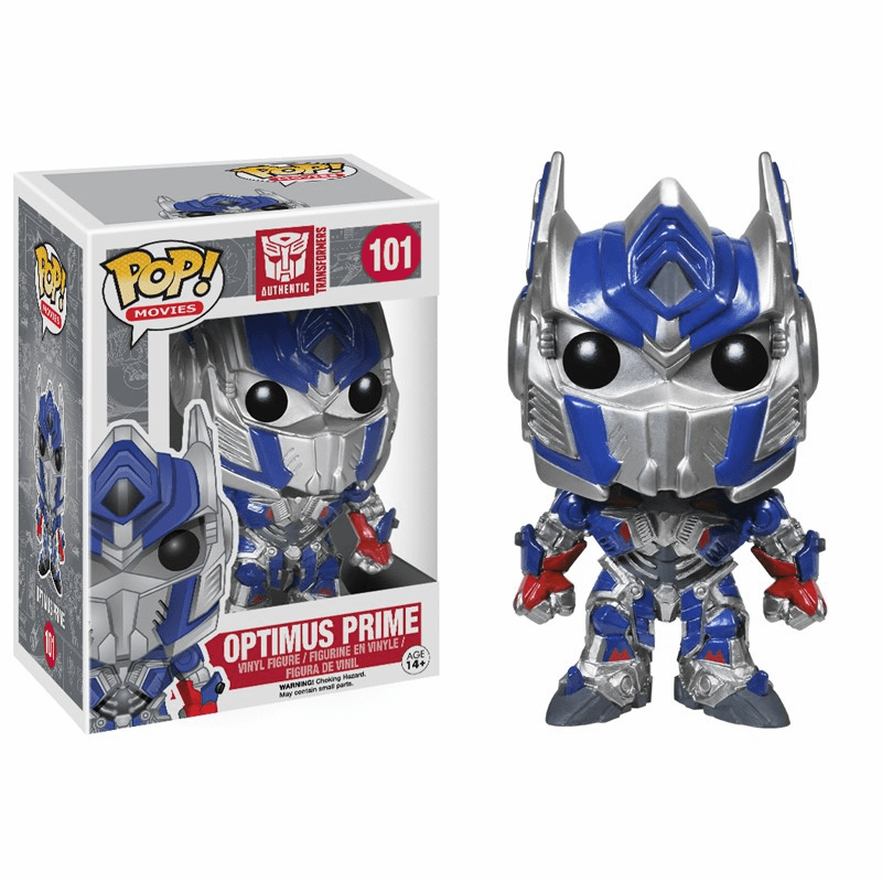 Funko Pop Movies Vinyl 101 Transformers Optimus Prime Figure