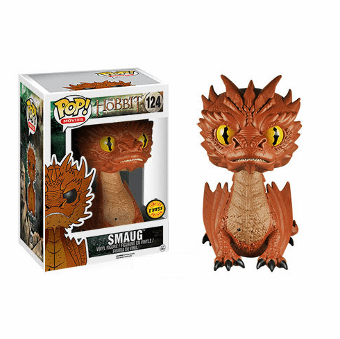 Funko Pop Movies Vinyl 124 The Hobbit Smaug Chase Figure