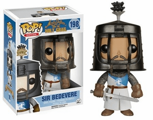 Funko Pop Movies Vinyl 198 Monty Python Holy Grail Sir Bedevere Figure